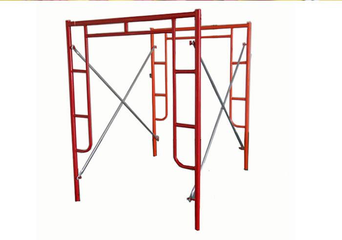 脚手架上施工作业的安全技术措施